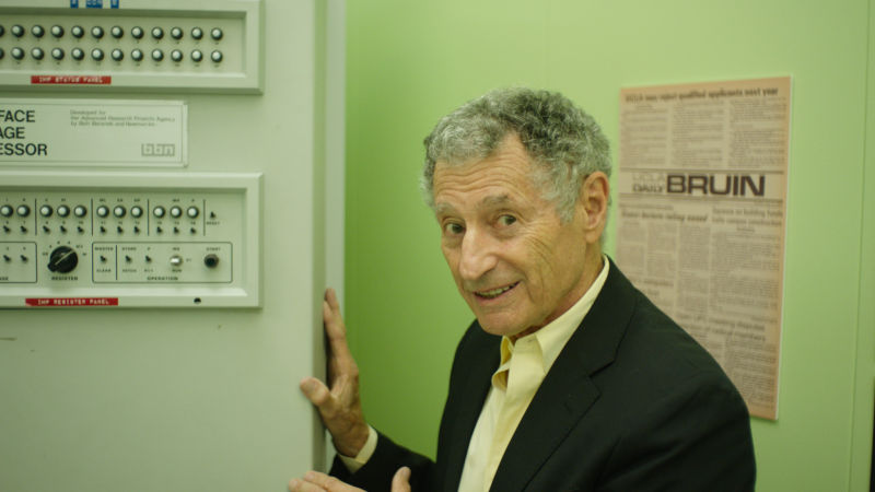 Dr. Leonard Kleinrock is a co-creator of ARPANET, the direct ancestor of the Internet.