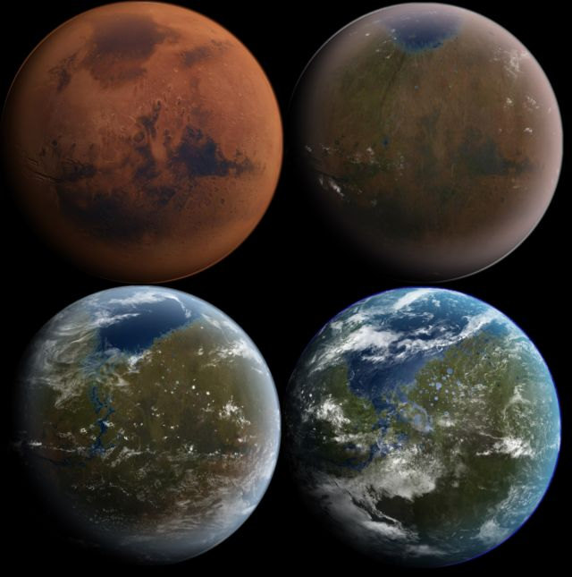 A fully terraformed Mars might take a while.