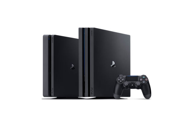 The big brother of the PS4 family.