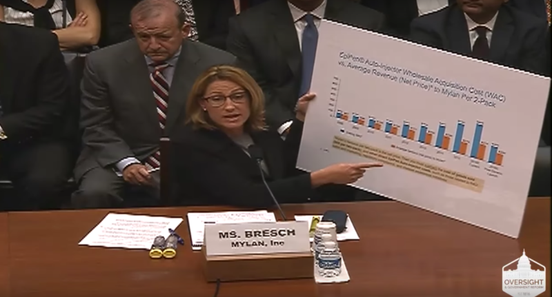 EpiPen maker CEO to seething lawmakers: We're doing the world a favor