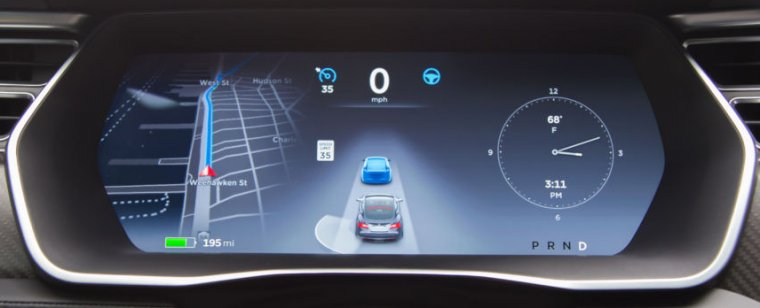 Tesla is all about autopilot and radar in firmware 8