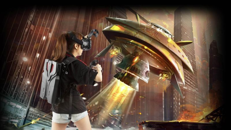 MSI's VR One backpack PC packs overclocked Core i7 and GTX 1070