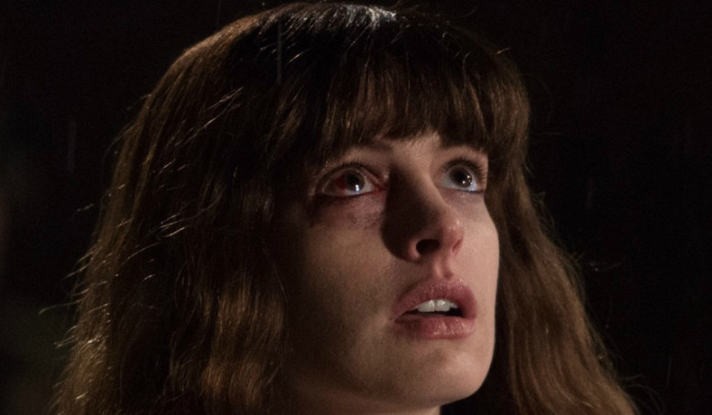In <em>Colossal</em>, Anne Hathaway plays Gloria, a party girl whose drunken binges seem to have awakened a giant monster in Seoul.