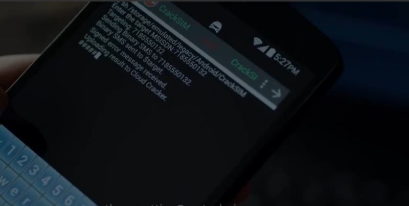 Yes, you can hack cell phones like on Mr  Robot—just not the