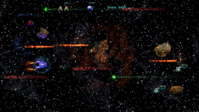 A scene from Digital Homicide's <i>Starship: Nova Strike</i>.