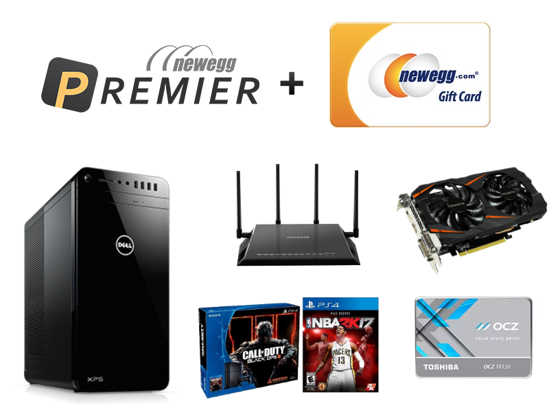 Dealmaster: Get a Newegg Premier membership, free shipping