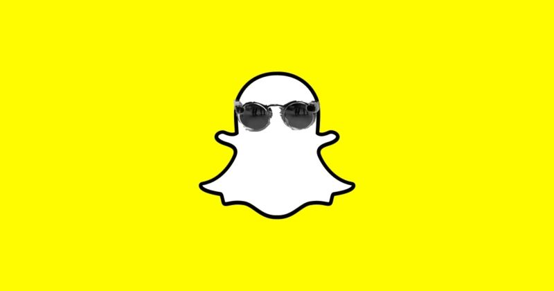 "Snapchat's new ""Spectacles"" glasses, which have been copy-and-pasted from Friday's WSJ report onto the company's official logo."