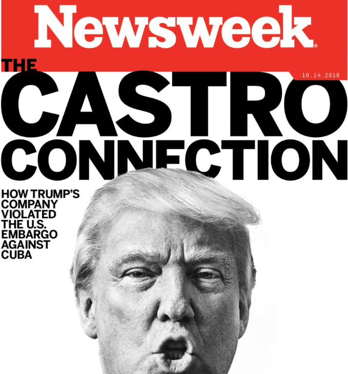 Did attackers take down Newsweek because of an anti-Trump story?