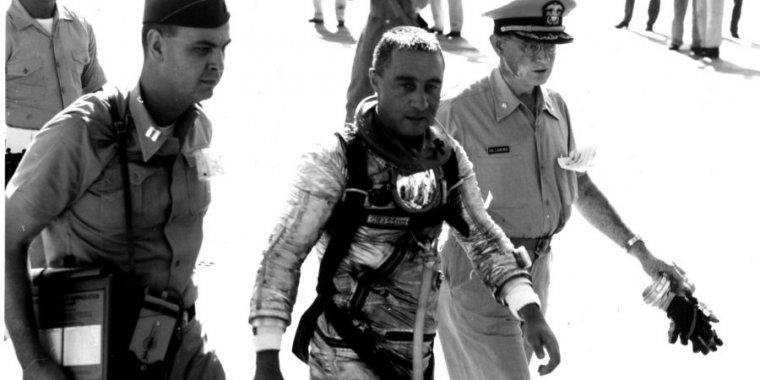 """Gus Grissom taught NASA a hard lesson: """"You can hurt yourself in the ocean"""" - Ars Technica"""