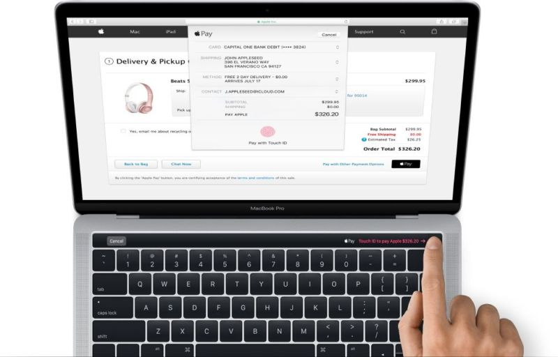 An image of the new MacBook Pro leaked earlier this week.