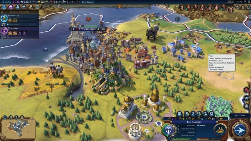 Civ  Build City On Border