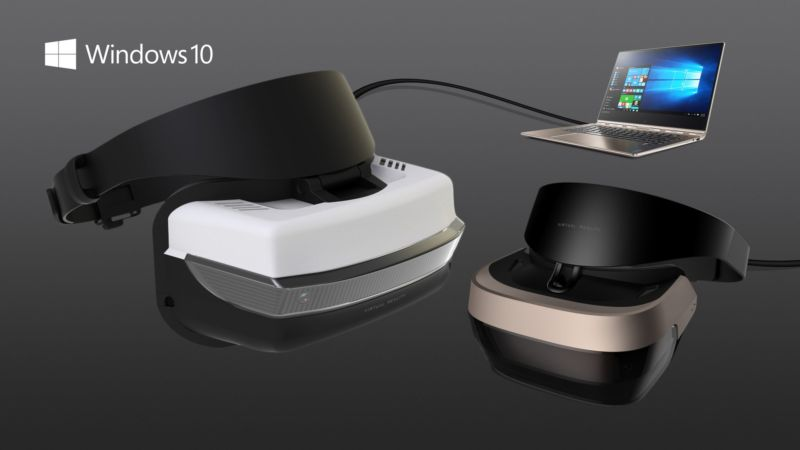 Some of the VR headsets due to be released in 2017.