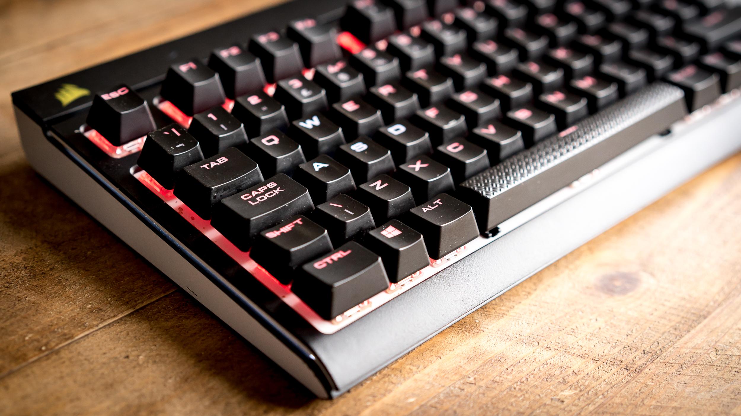 corsair k70 lux mechanical gaming keyboard review