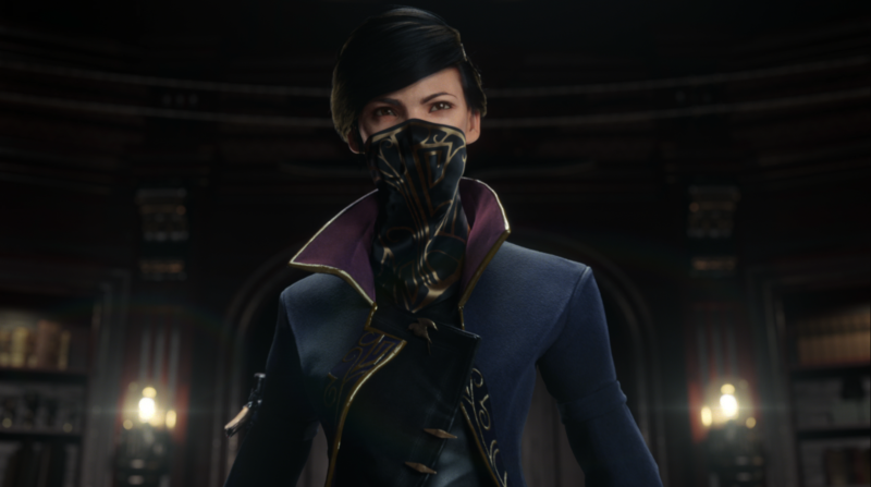 As far as early reviews of <i>Dishonored 2</i> are concerned, the press' collective mouths will be as covered up as this protagonist's.