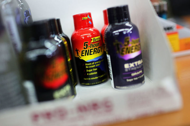 Is 5-hour Energy better than coffee? Depends on which state you're in