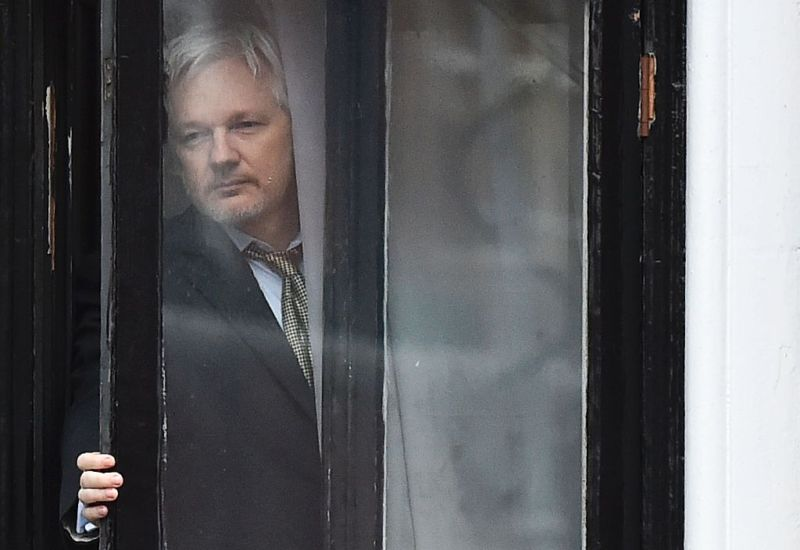 Julian Assange's Wikileaks is shocked—<em>shocked</em>—that someone would leak secrets for political reasons.