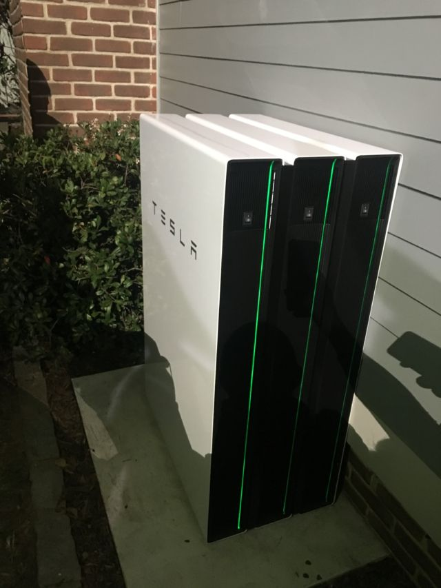 The new Powerwall 2.