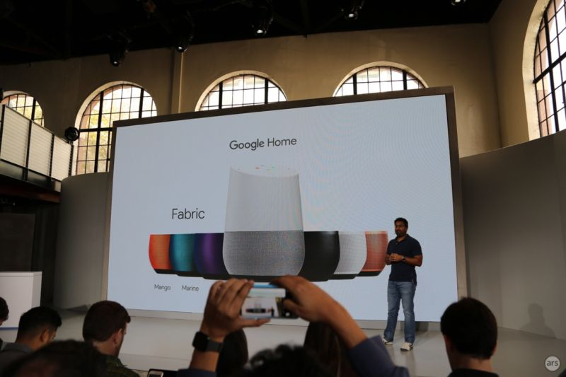 Google Home is official: Google undercuts the Amazon Echo at $129