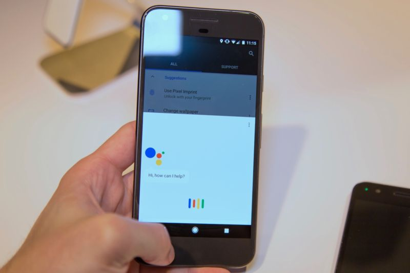 The Google Assistant.