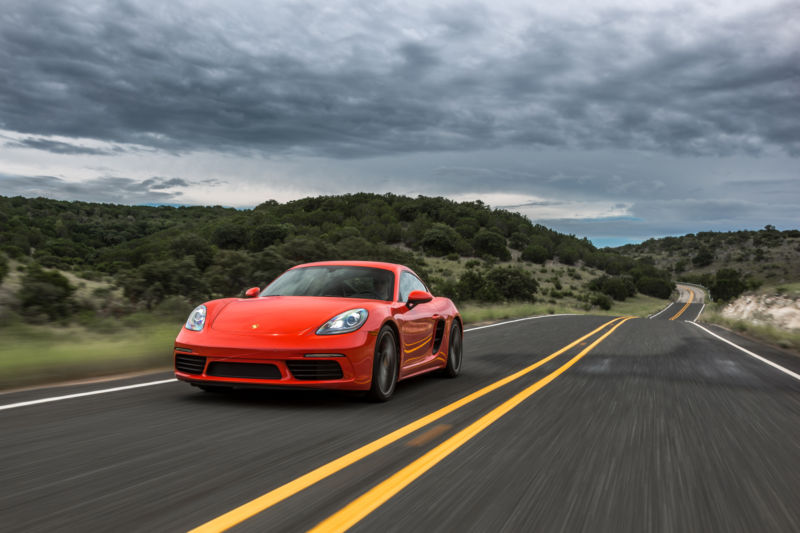 The Porsche 718 Boxster S and Cayman S—racing technology meets the road