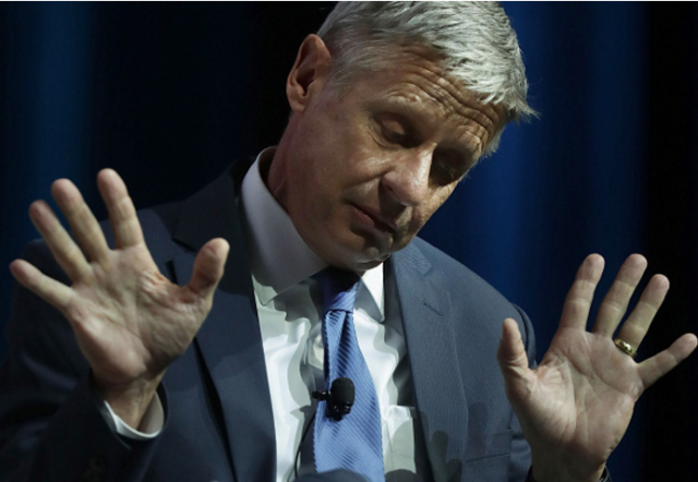 Gary Johnson hasn't solidified his feelings on all big science policy just yet.