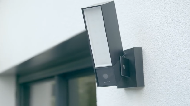 Netatmo's light-based camera brings figure recognition outdoors