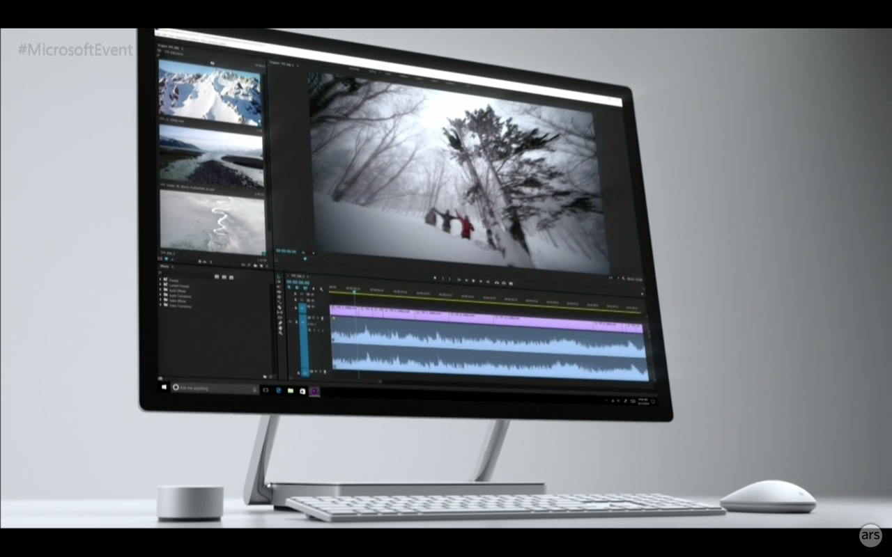 Ultra thin pixel dense surface studio touchscreen pc will for Latest windows for pc