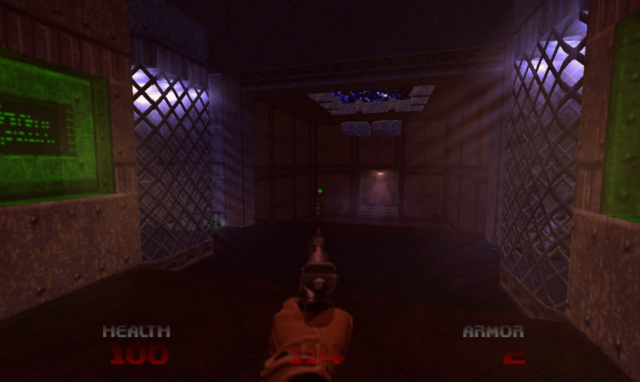 A quick tease of the lighting-engine goodness found in <em>Brutal Doom 64</em>.