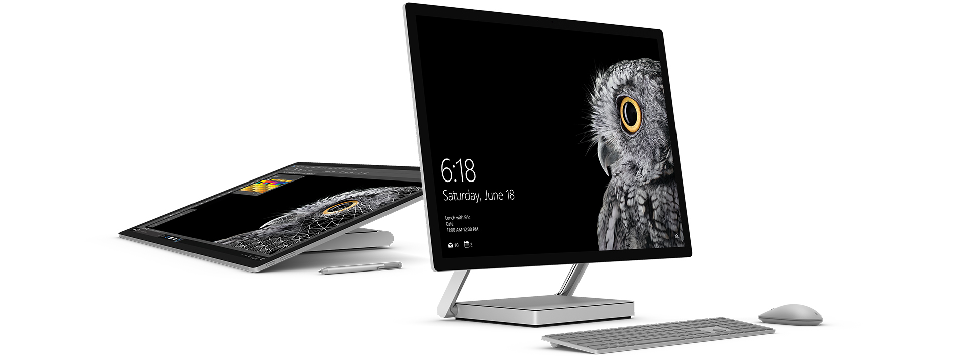 The Surface Studio is nothing if not good looking. The significance of June 18? That's when the first Surface was announced.