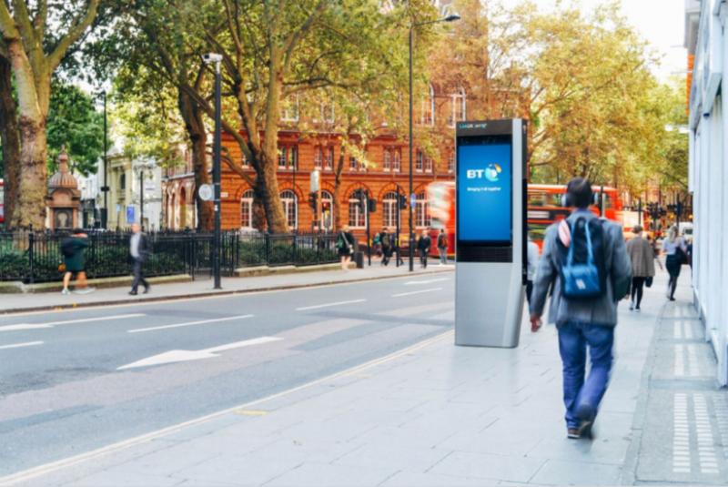 "BT's new ""1Gbps"" free Wi-Fi digital kiosks start appearing in London"