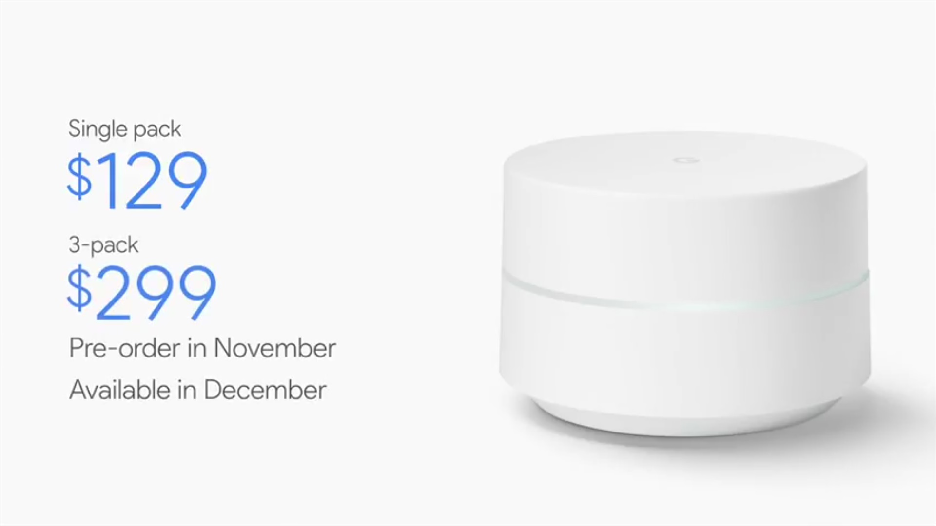 Google Wifi Google S Second Attempt At A Home Router