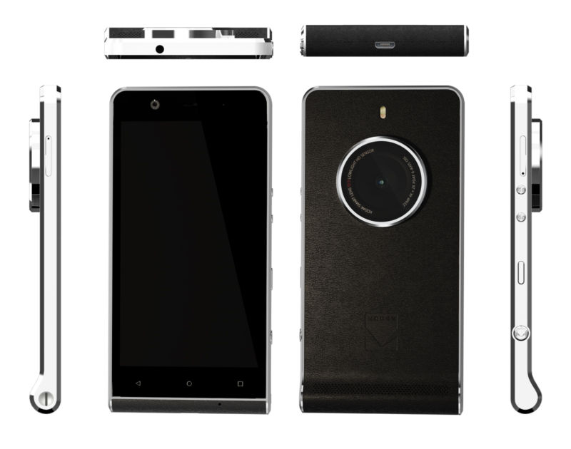 Kodak Ektra smartphone is aimed at photographers, but specs say otherwise