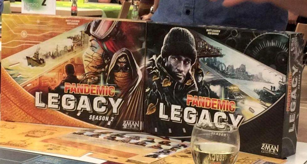 Pandemic Season 2 box