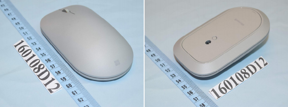 Microsoft has opted not to include a charging port on the bottom of the Surface Mouse.