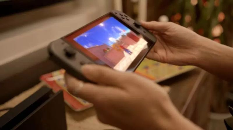 The Switch's HD screen is reportedly a little smaller than that on an iPad Mini.