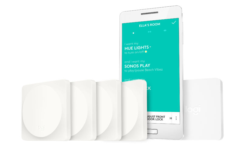 Logitech reinvents the light switch with the Pop Home Switch