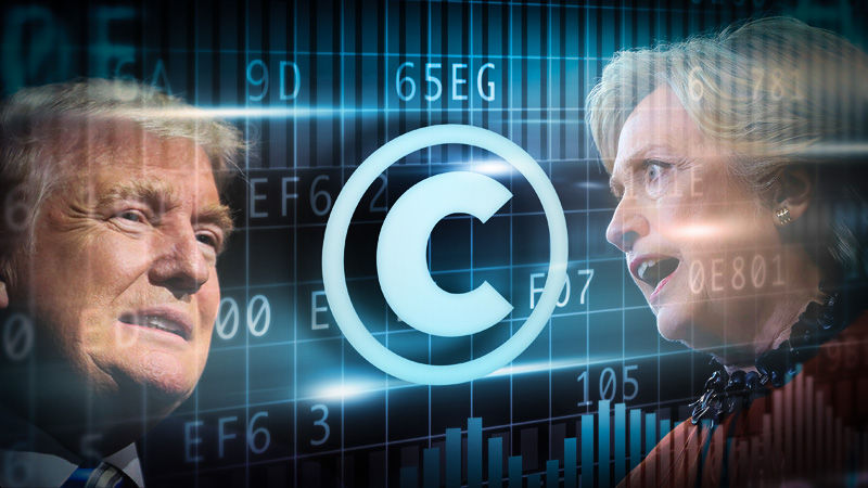 Clinton v. Trump on copyrights and patents: Reading the platform and the tea leaves