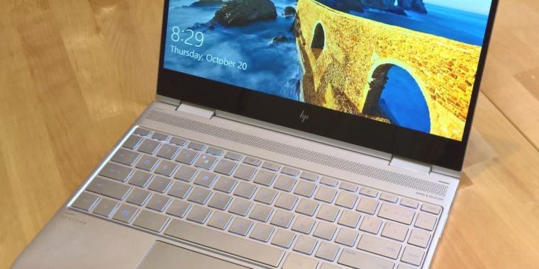 HP's new Spectre x360 is probably the best PC laptop around | Ars