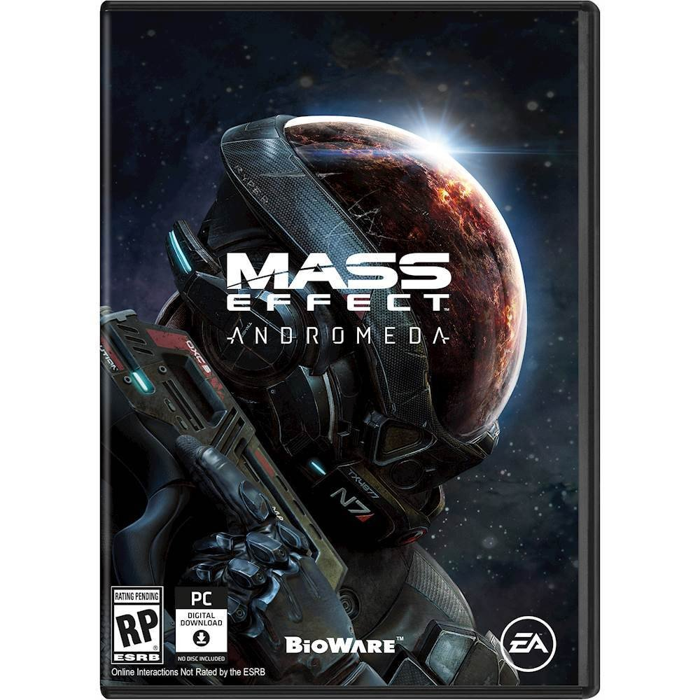 Box art for <em>Mass Effect: Andromeda.</em>