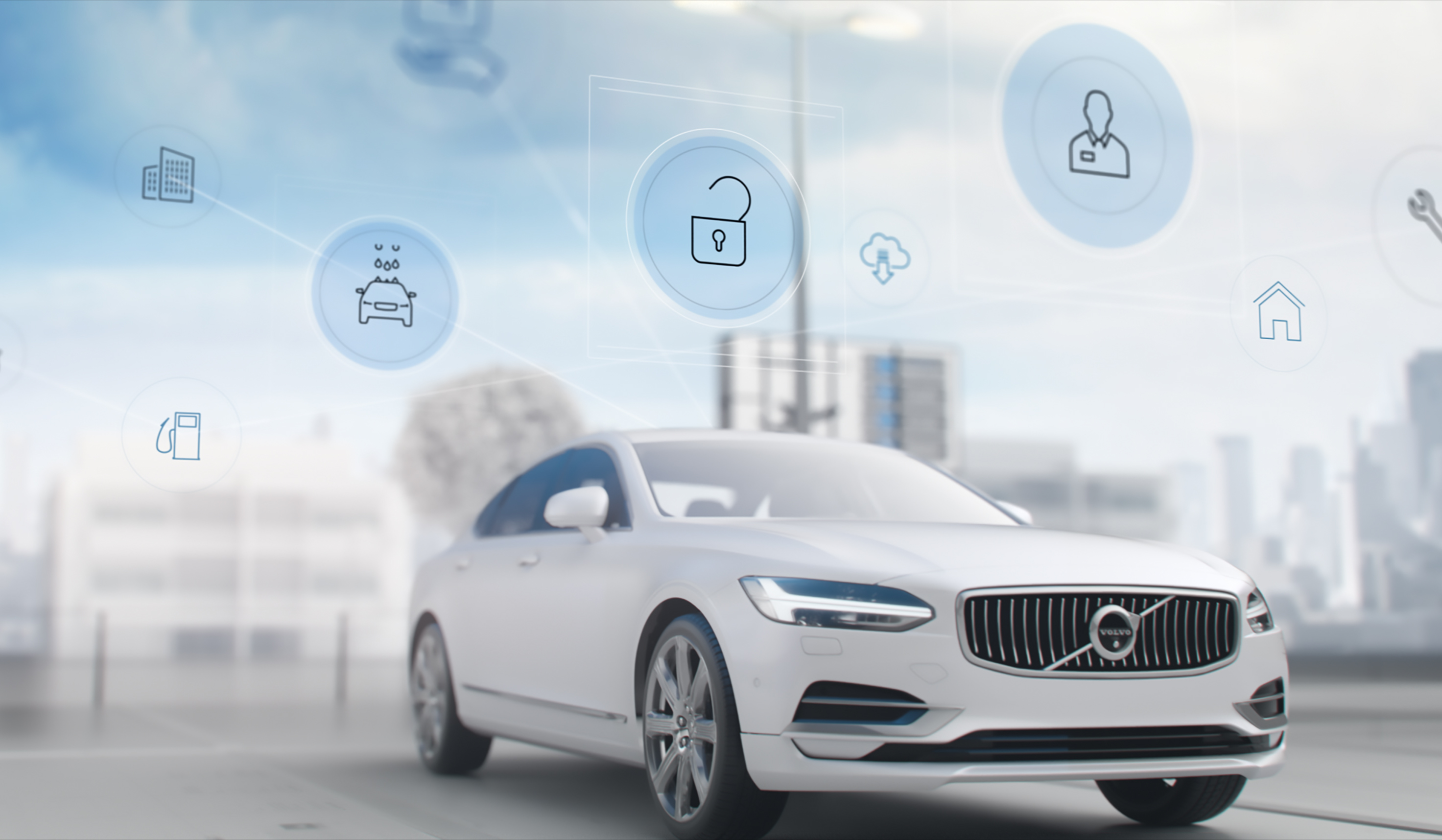 driving to the gas station? Meet Volvo's new connected ...