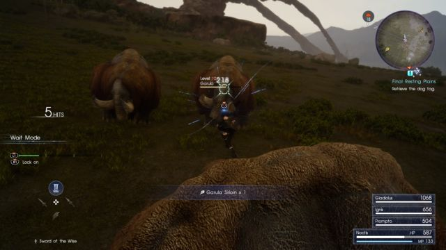 Final Fantasy 15's first 10 hours: A car ride that asks