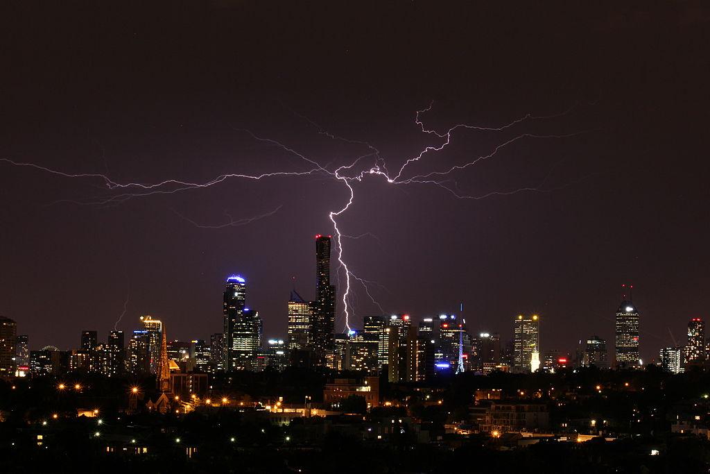 Enlarge Huge Lightning Storm
