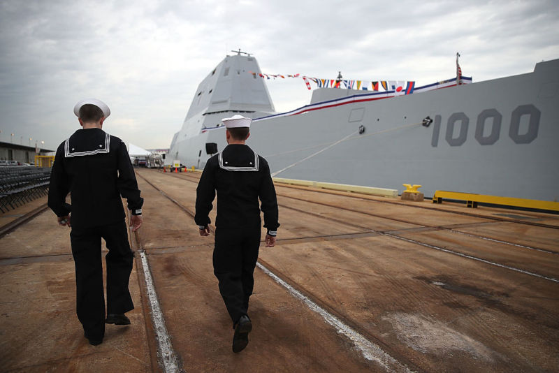 The USS <i>Zumwalt</i> (DDG-1000) will be spending a lot of time pier-side in San Diego.