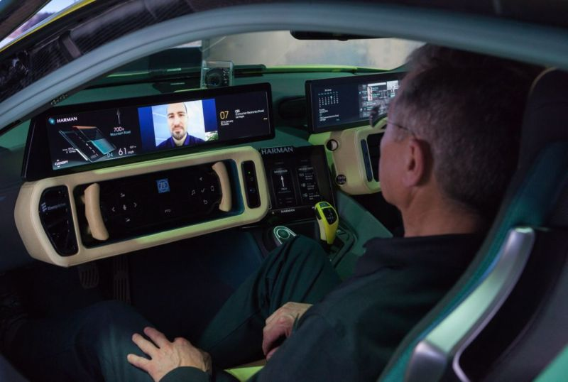 Harman and Microsoft have been working on productivity applications for the connected car, so there's going to be no escaping those conference calls in the future.