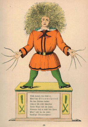 Struwwelpeter in a 1917 edition.