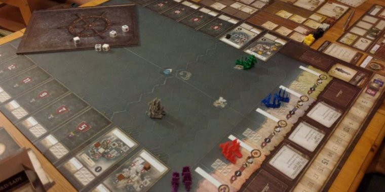SeaFall review: Hotly anticipated board game is a work of flawed genius