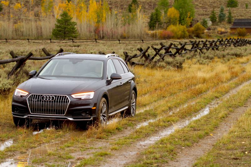 2017 Audi A4 Allroad put to use in the real world