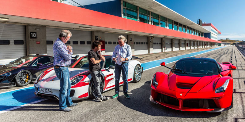 Some say it's the best car show ever: The Grand Tour hits Amazon Prime