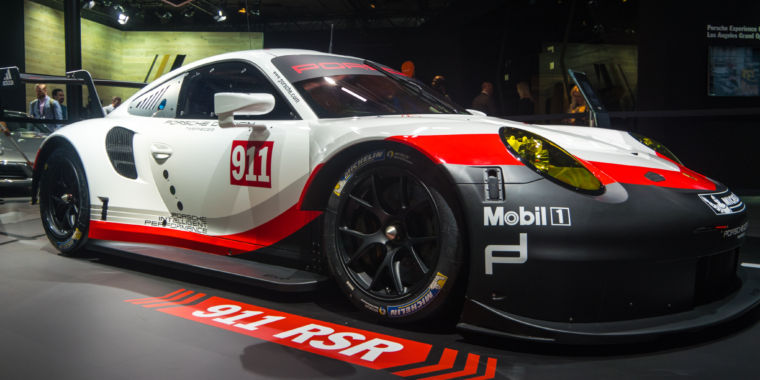 Mazda And Porsche Race Cars Unveiled At The La Auto Show Ars