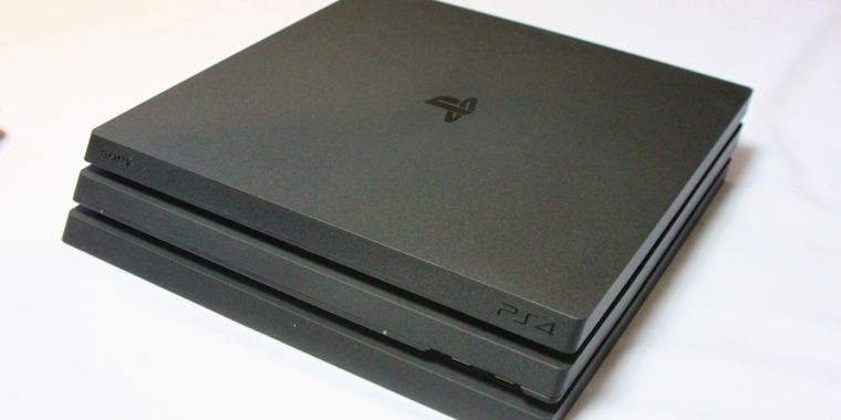 Here's what the PS4 Pro looks like out in the wild